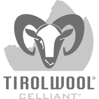 Tirol wool® Celliant 2 scrim 200g (60% PES/40% Wool) / Tirol wool® Celliant 2 scrim 160g (60% PES/40% Wool) / Tirol Wool® Celliant needled 110g 60PES40Wool